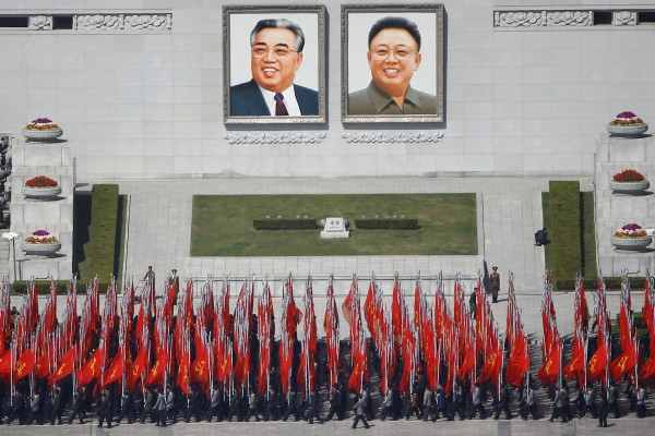 Warga Korea Utara sambut Hari Matahari