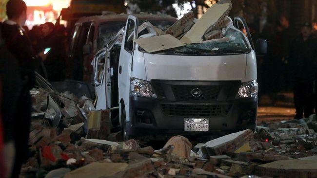 Ledakan di Gereja Kristen Koptik Mesir, 15 Orang Tewas