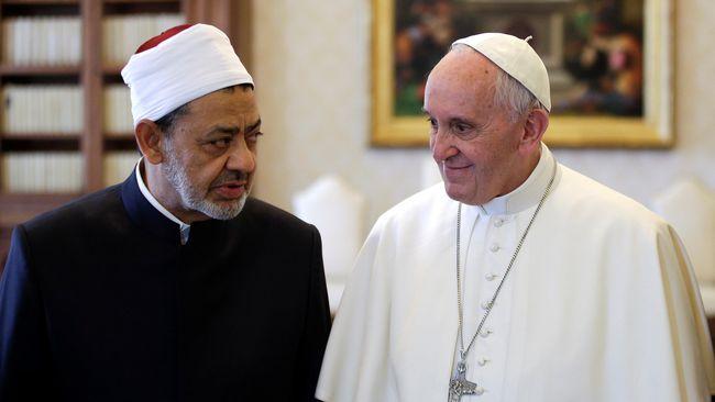 Ketika Paus Fransiskus Ucapkan 'Assalamualaikum' di Mesir
