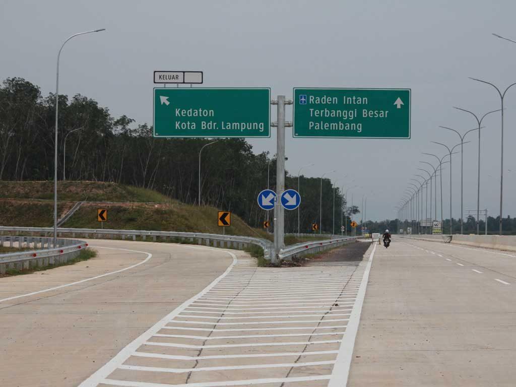 Jalan tol Sumatera jalur alternatif mudik Lebaran