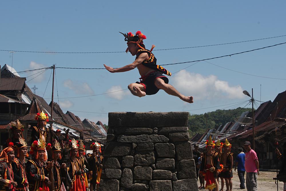 pemandangan alam asli Indonesia