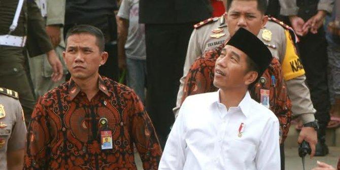 Presiden Jokowi resmikan pembangunan rusunami Tangsel