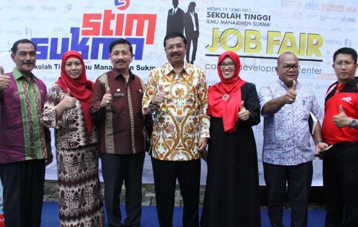 Gubernur Sumut Buka Job Fair