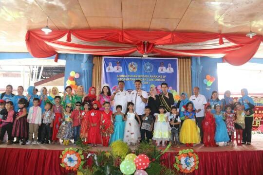 802 Anak PAUD dan TK Ikuti Lomba Bulan Kreasi Anak di Kecamatan Medan Tuntungan