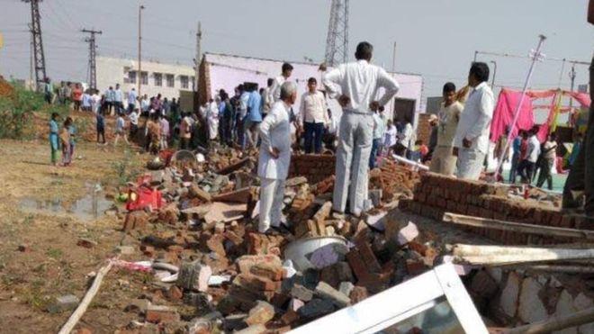 Kecelakaan pesta pernikahan di India, 22 tewas