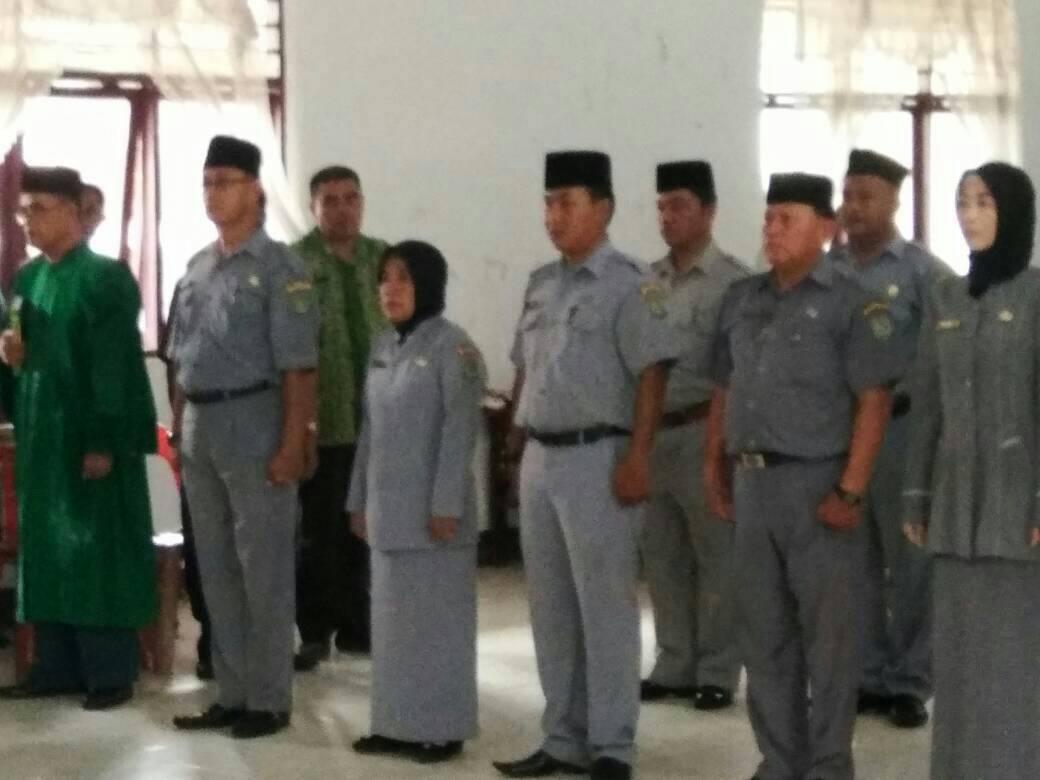 Dinas Pendidikan Kabupaten Asahan Rotasi 16 Kepala SMP