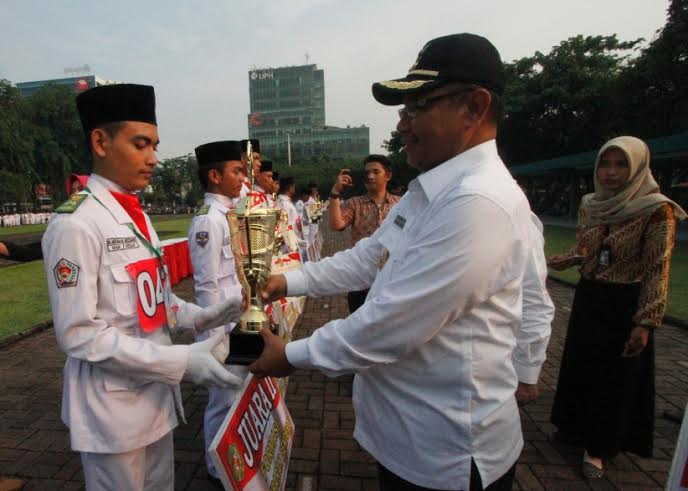 433 Pelajar Bersaing Jadi 40 Calon Paskibra Kota Medan