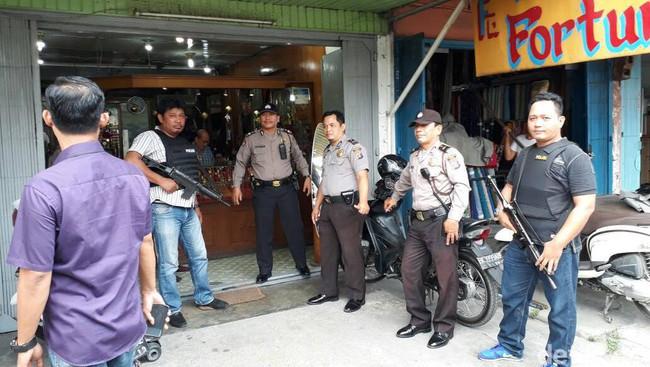Hanya Untuk Mencegah Ini, Polrestabes Medan Patroli Dari Toko Ke Bank
