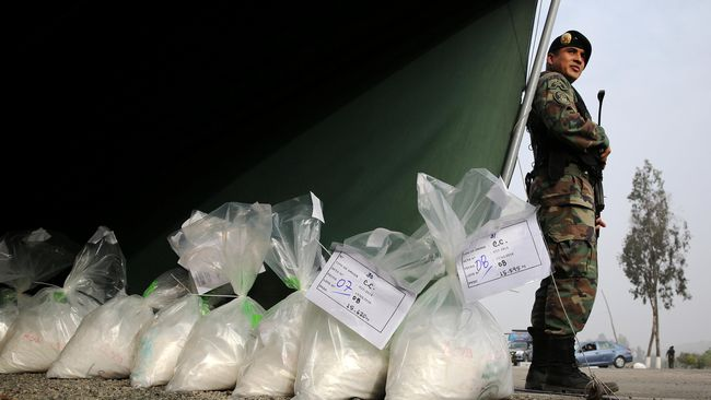 Otoritas Panama Sita Empat Ton Kokain
