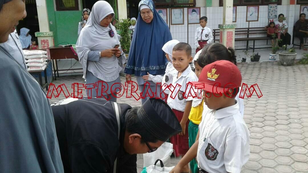SDN 010093 Selawan Berbagi di Bulan Ramdhan