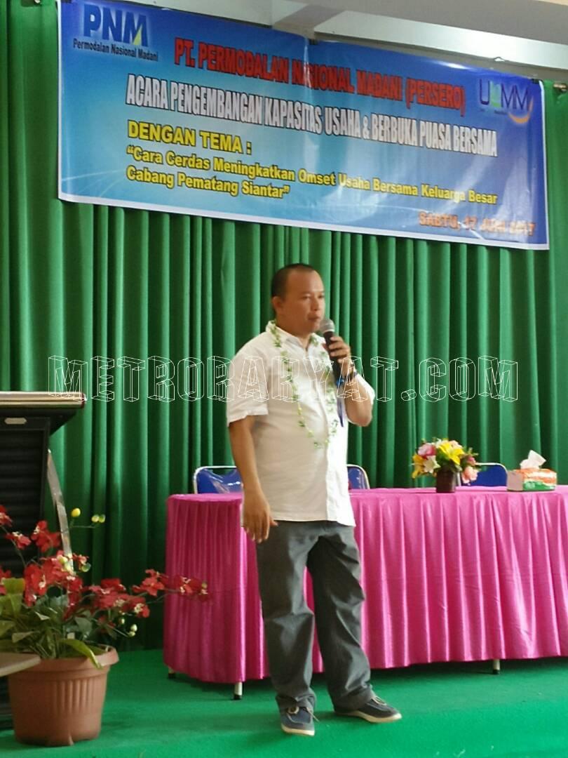 PT PNM Gelar Acara Pengembangan Kapasitas Usaha Dan Berbuka Bersama Dengan Nasabah
