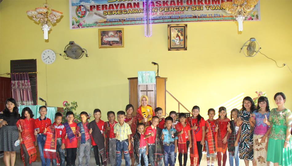 Wakil Gubernur Sumatera Utara Hadiri Paskah Oikumene