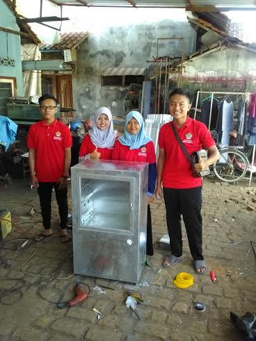 Mahasiswa UMK Rancang Automatic Fish Dryer Tenaga Angin