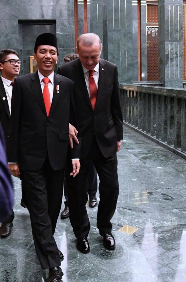 Presiden Jokowi unggah vlog bersama Erdogan
