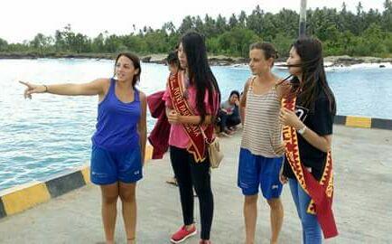 Rencana Wisata ke Pulau Asu Nias,  Dua Turis Mancanegara Kebingungan