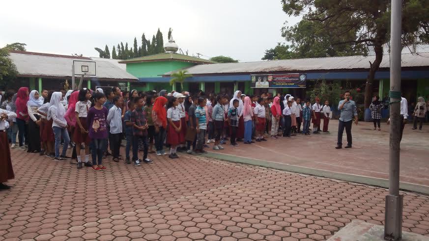 Seleksi Ujian Masuk PPDB SMPN 16 Medan Berjalan Tertib dan Lancar