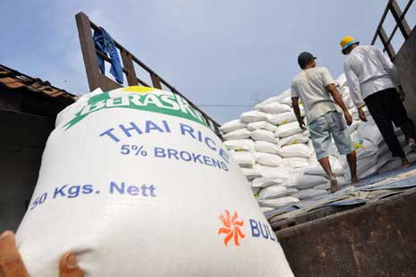 Menko Perekonomian tidak bisa jamin tidak mengimpor beras