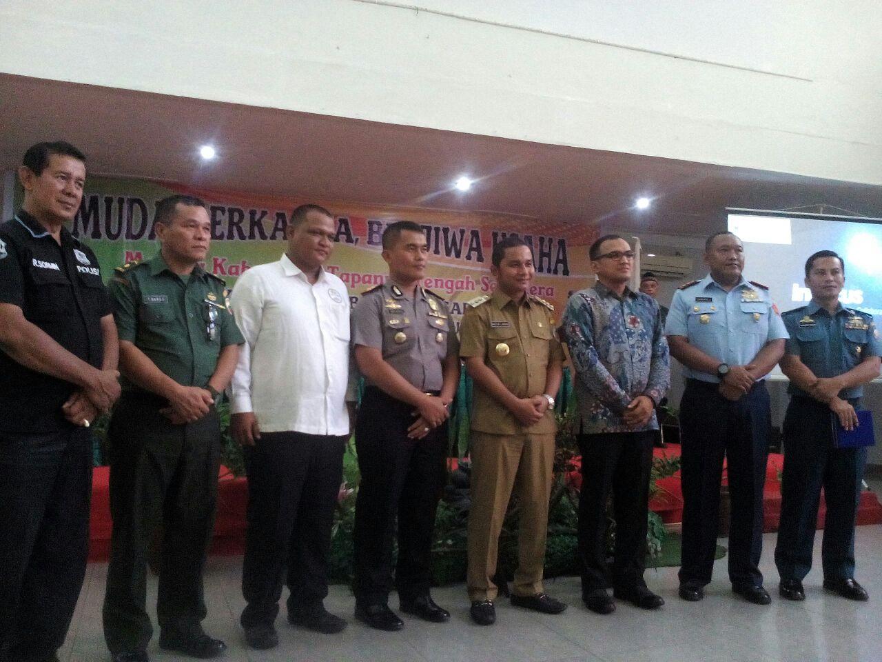 Bupati Tapteng hadiri pelantikan pengurus HIPMI