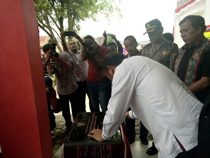 Bupati Taput Resmikan Gedung Kantor Dinas Pendidikan dan Kebudayaan Taput