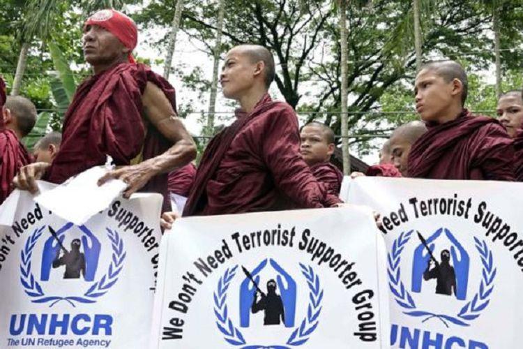 Myanmar Blokir Akses Bantuan PBB untuk Warga Sipil Rakhine