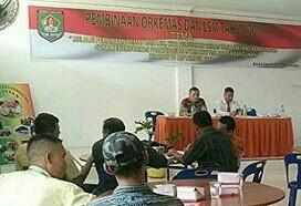 Badan Kesbangpol Gelar Sosialisasi Kelembagaan SDM Ormas