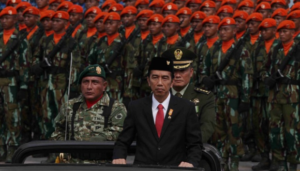 Jokowi: Waspadai Ancaman yang Ganggu NKRI dan Pancasila