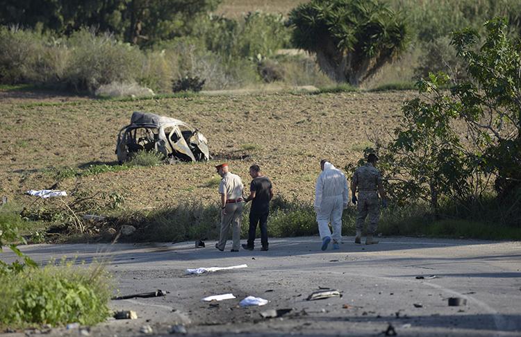 Wartawati Malta tewas dibom pemicu jarak jauh