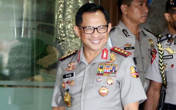 23 perwira tinggi Polri naik pangkat