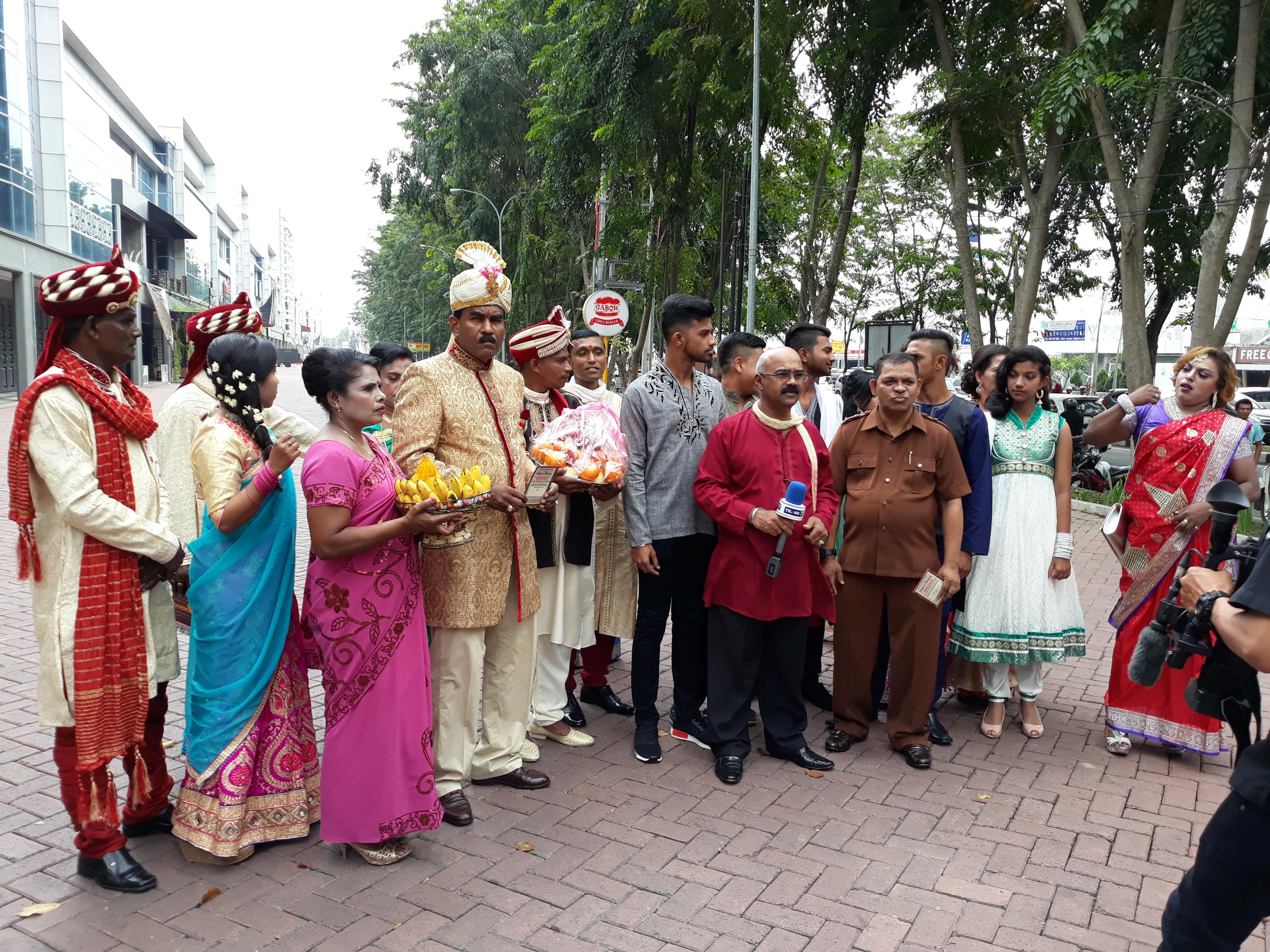 Persatuan Warga Tamil Katolik Bangga Mendapat Undangan Pesta Ngunduh Bobby Nasution-Kahiyang Ayu