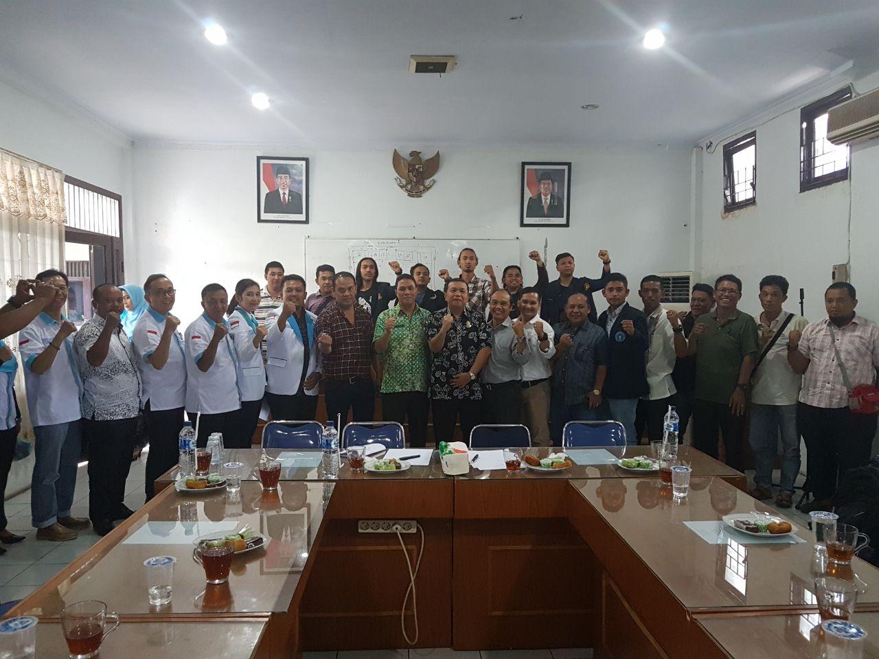 Dirut PD Pasar Kota Medan Gandeng Ketua Pedagang Pasar dan Insan Pers Untuk Benahi Pasar di Kota Medan