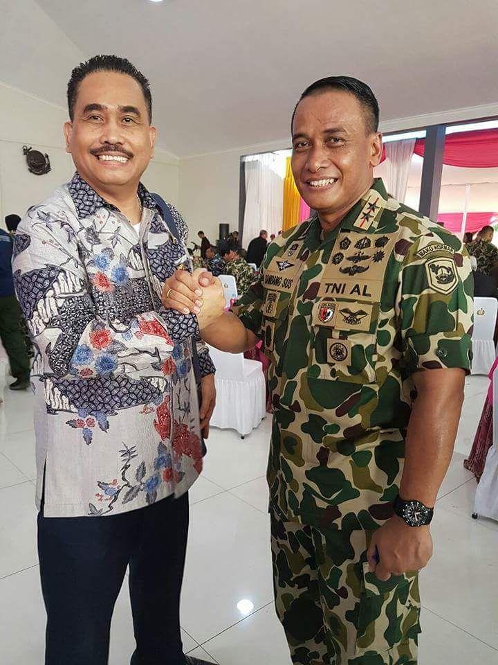 Anggota DPRD Kita Medan, Hendrik Sitompul Apresiasi Parade Perayaan HUT Marinir ke 72