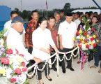 Wali kota Damping Menko PMK Resmikan  IPLT Kota Medan