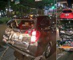 4 Kendaraan Kecelakaan Beruntun di Tol Fatmawati