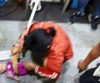 Polres Tangerang Selatan Rekontruksi Wanita Pembantu Menyayat Leher Bayi Baru Dilahirkan