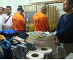 Polres Metro Bekasi Kota Gerebek Gudang Tempat Pembuatan Oli Oplosan