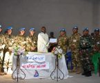 Kontingen Garuda XX-N/Monusco Bantu Perbaikan Sarana Ibadah di Kongo