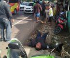 Vario Vs Motor Cross, Korban Lakalantas Di Purwakarta Bersimbah Darah