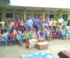 Siswanto Laoli Berbagi Kasih Ke panti Asuhan Di Kota Gunungsitoli