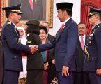 Pelantikan Kabinet Kerja, Presiden Jelaskan Posisi Airlangga dan Teten
