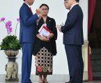 Presiden Jokowi Terima Surat Kepercayaan Sembilan Duta Besar Negara Sahabat
