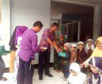 Satpom AU Lanud Soewondo Jalin Silatuhrahmi dan Pengajian Bersama Anak Yatim