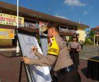 Kapolrestabes Medan Kombes Pol Dr Dadang Hartanto, SH, SIK,MSi Pimpin Penandatanganan Fakta Integritas WBBM Dan WBK Serta Piagam