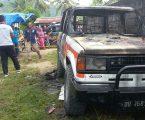 Mobil Trooper Milik Aktivis di Bakar OTK