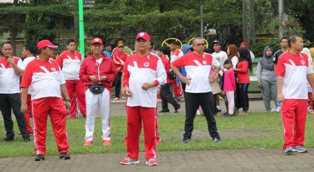 Ribuan Warga Medan Ikuti Senam Jantung Sehat  Perdana di Tahun 2018