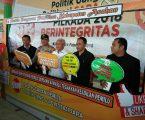 Wabup Asahan Bersama Kapolres Asahan Hadiri Deklarasi Tolak Politik Uang dan SARA di Pilkada 2018
