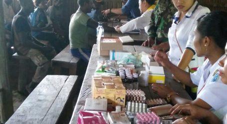 Tim Kesehatan Asmat 3 Lakukan Layanan Kesehatan Di Subdistrik Pepera