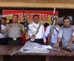POLRES ASAHAN TANGKAP WARGA BUAT SENJATA RAKITAN AK-47, TERSANGKA TERANCAM 20 TAHUN PENJARA