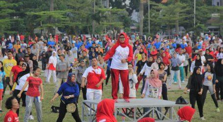 Wali Kota Medan Komitmen Sosialisasikan Terus Senam Jantung Sehat