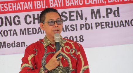 Wong Chun Sen Tarigan Berharap Tidak Ada Lagi Ditemukan Anak Kurang Gizi Di Kota Medan