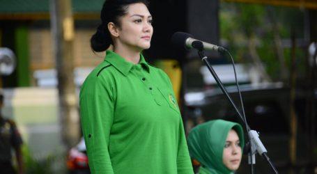 KetuaPersit KCK PD XIV/Hasanuddin Resmi Tutup Pertandingan Bola Volley